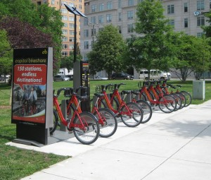 Capital Bikeshare station1